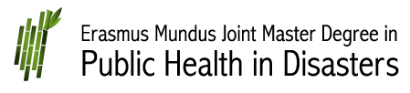 Erasmus Mundus Joint Master Degree in Public Health in Disasters